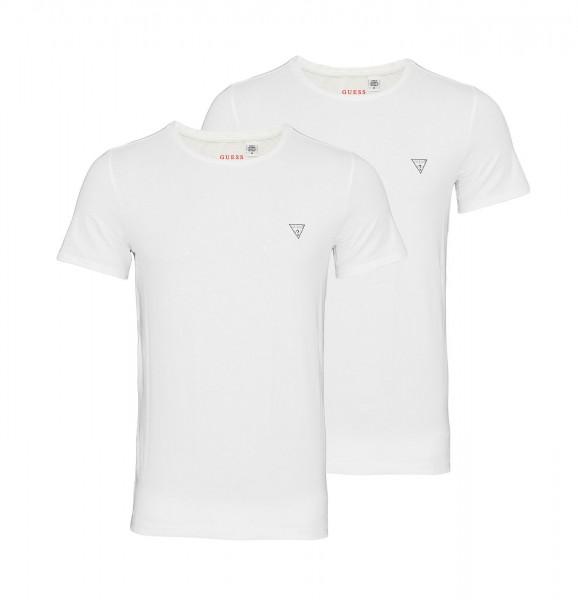 Guess 2er Pack T-Shirt R-Neck U97G02JR003 A009 white WF20-GT1