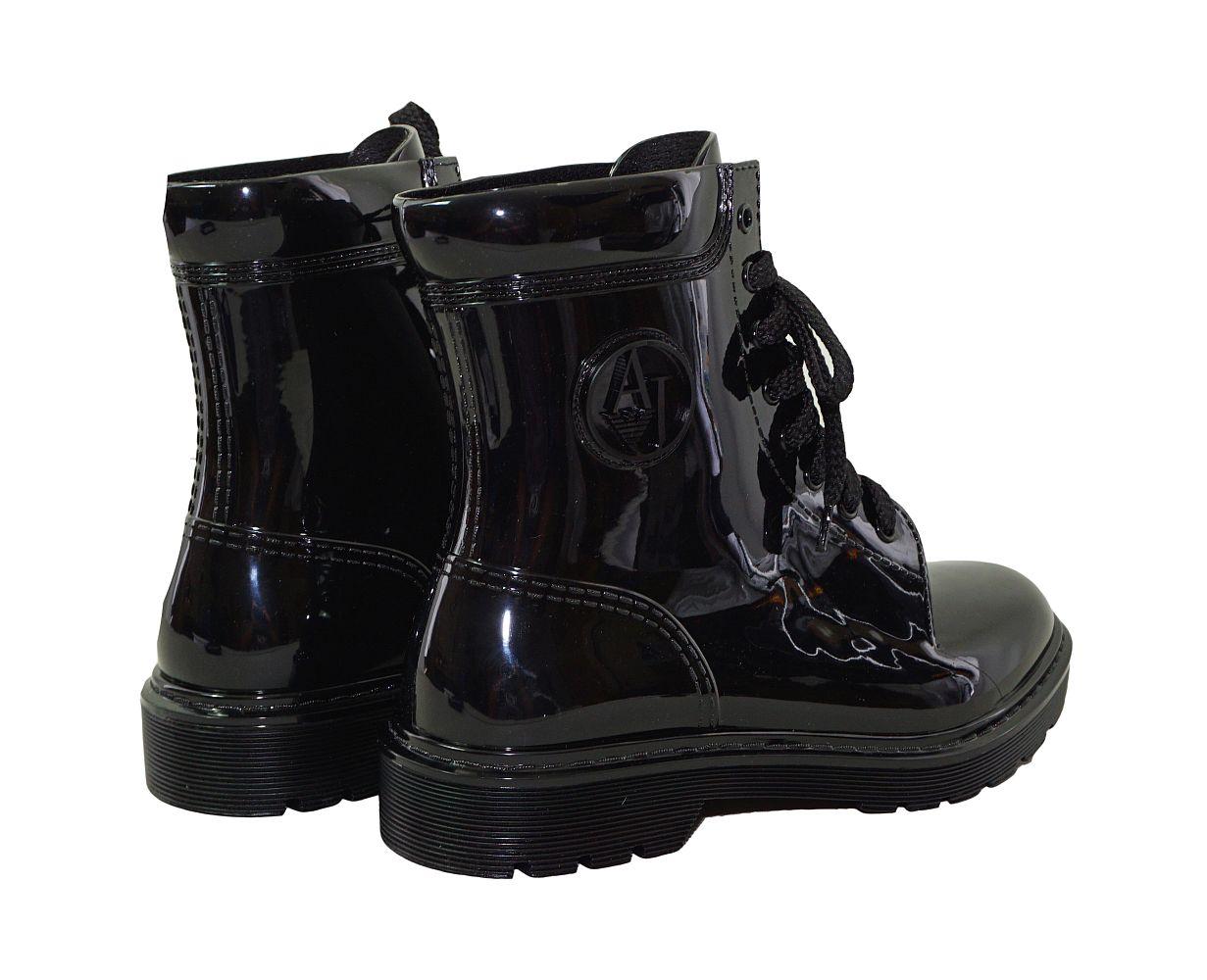 Armani Jeans Schuhe Stiefel Boot schwarz 925118 6A520 00020 Nero HW16-AJ