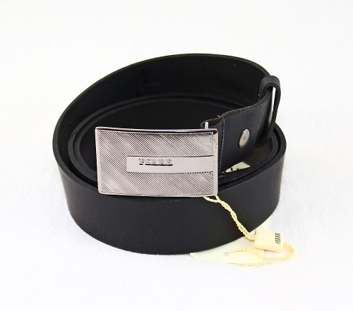 Gianfranco Ferre Ledergürtel Leder Gürtel 91021706 schwarz 110 cm