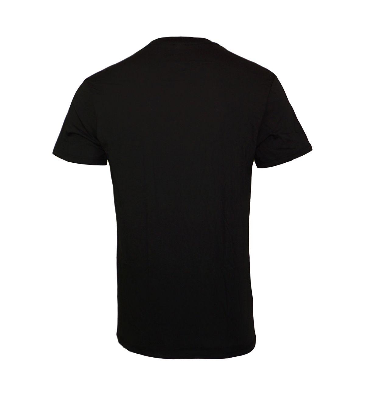 G-Star 2er Pack T-Shirts Regular Fit V-Ausschnitt D07203-2757-2019 Black F18-GSP1