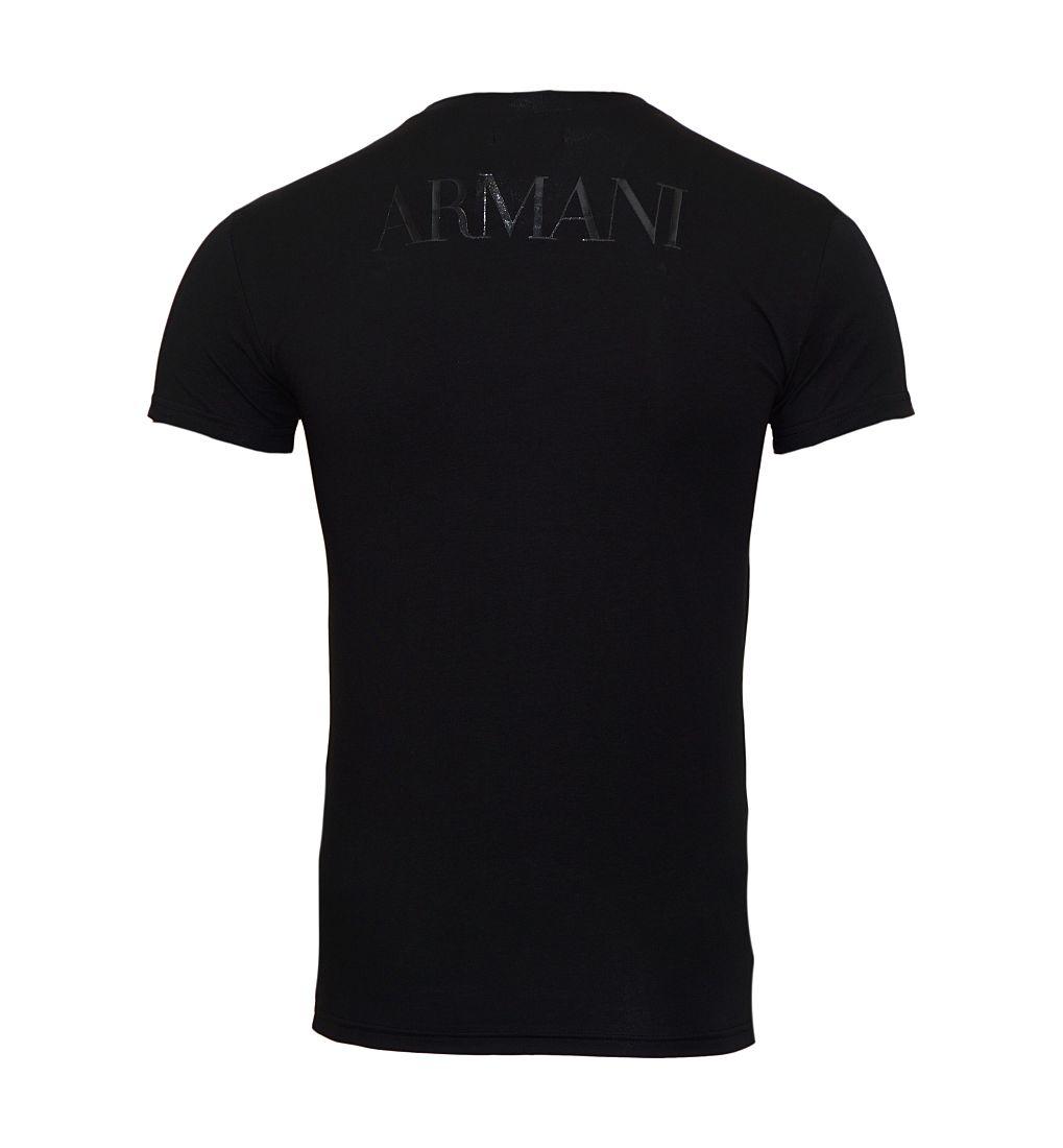 EMPORIO ARMANI Shirt T-Shirt Nero 111035 7P516 00020 WF17-EATS1