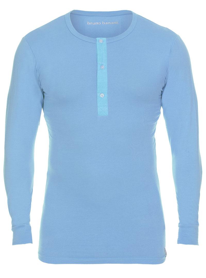 Bruno Banani Longsleeve Shirt hellblau Rundhals BB16 1342 2202 144Z
