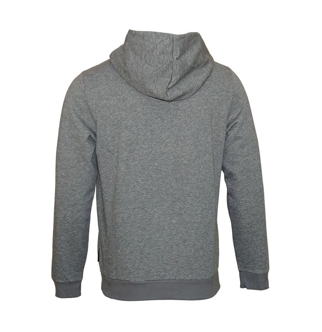 Emporio Armani Sweater Hooded 111698 7A571 06749 GRIGIO MELANGE SCURO SH17-EASW1