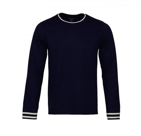 Ralph Lauren Sweater Sweatshirt R-Neck 71475403 5002 navy cream SH19-RLS