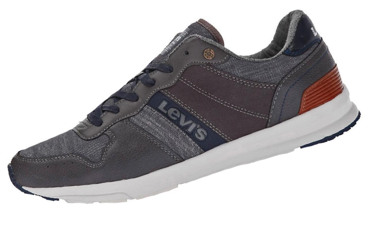 Levis Schuhe Sneaker BAYLOR 227240 822 158 dunkelgrau SH18-LS1