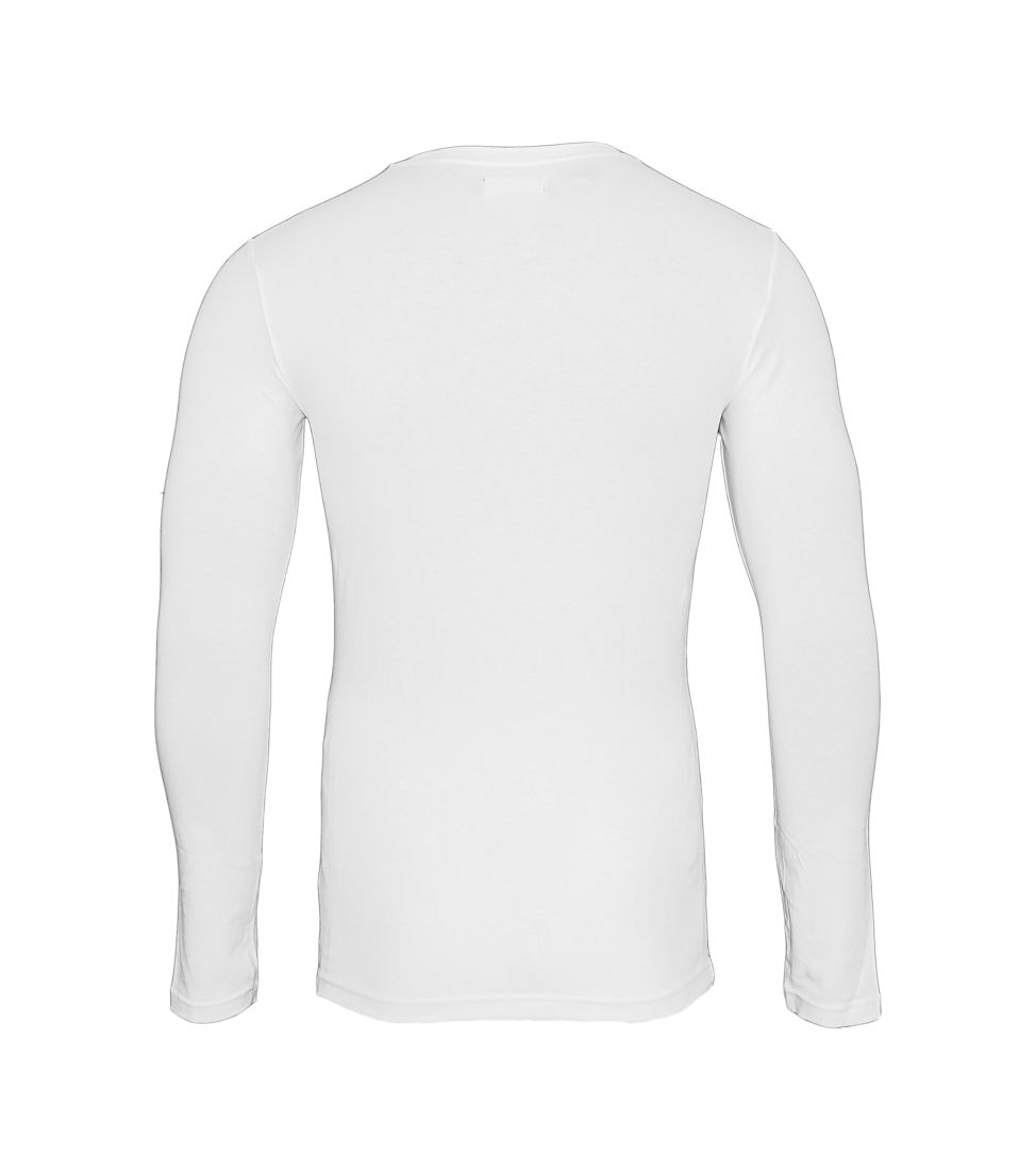 Emporio Armani Longsleeve Shirt Rundhals 111023 7A512 00010 BIANCO SH17-EALS1