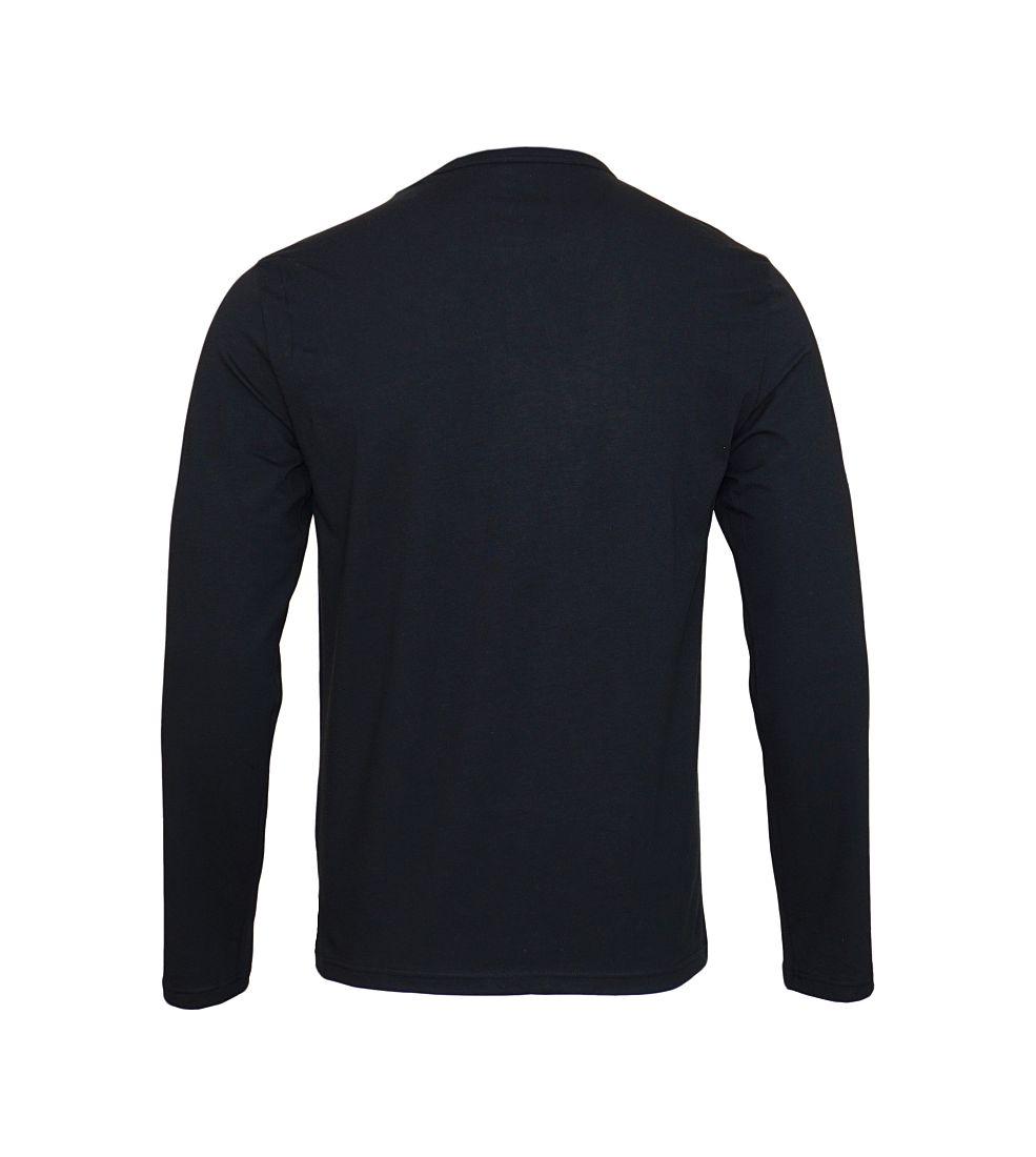 Emporio Armani Longsleeve Shirt Rundhals 111653 7A717 00020 NERO SH17-EALS1