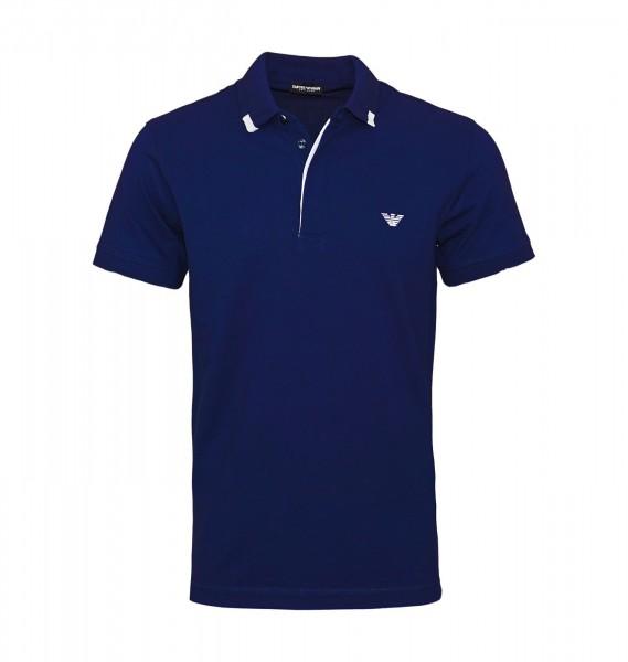 Emporio Armani Polo Poloshirt 211804 9P461 06935 navy blue WF19-EAP1