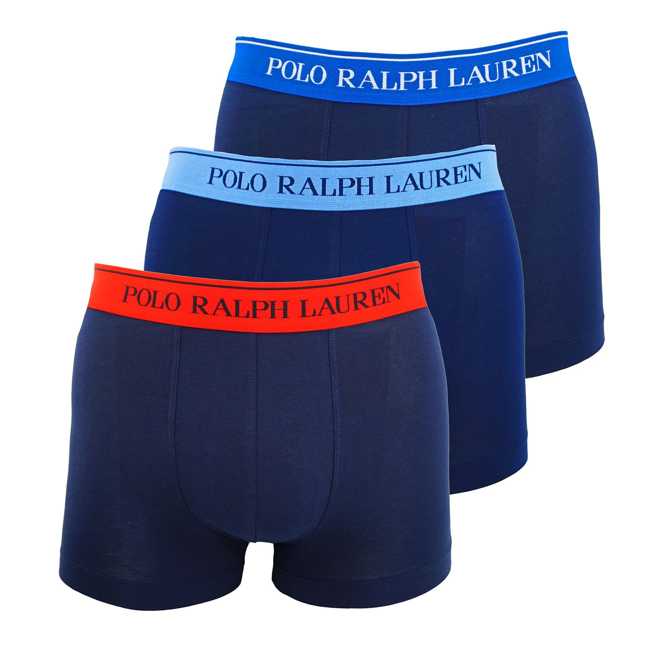 Ralph Lauren 3er Pack Classic Trunks Multicolor 714662050007 S18-RLT1