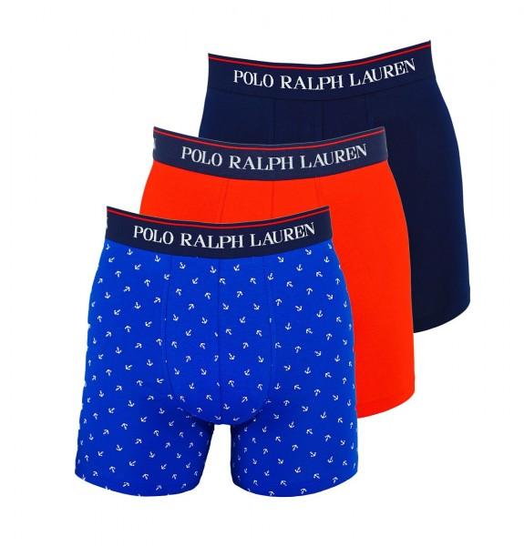 Ralph Lauren 3er Pack Boxer Boxershorts 71473041 0002 multicolor W19-RL3