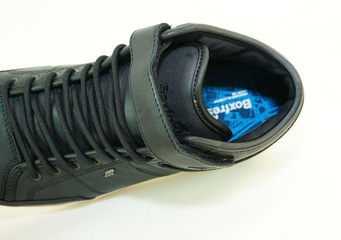 Boxfresh Schnürschuhe Schuhe Swich Prem ICN VCHT LEA E-15202 Black Sneaker SH17-BFS1