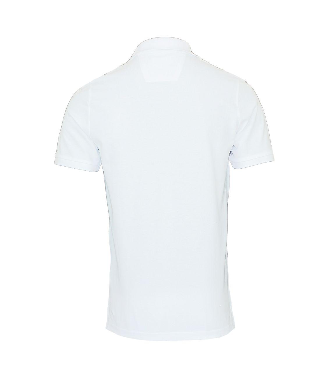 Daniel Hechter Poloshirt Polohemd 75021 181921 10 weiß F18-DHP1