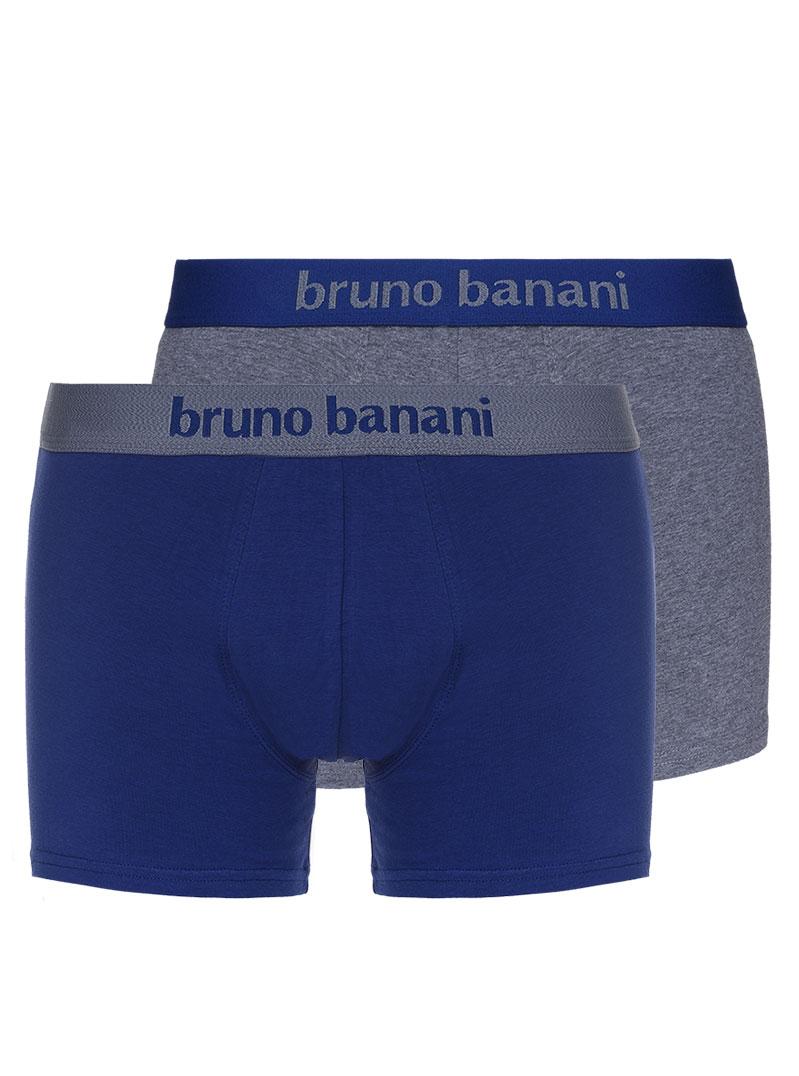 Bruno Banani 2er Pack Shorts Boxershorts blau, grau 1388 2201 1822Z