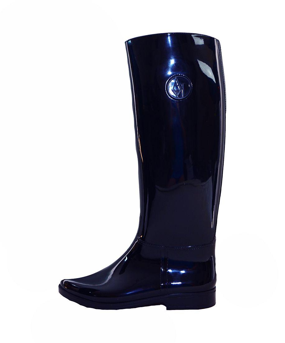 Armani Jeans Schuhe Stiefel Boot Stivale 925120 6A523 31835 Dark Navy HW16-AJn