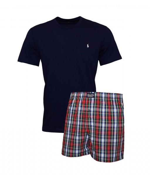 Ralph Lauren Pyjama Shirt + Boxershort 71470760 5002 navy SH19-RL2