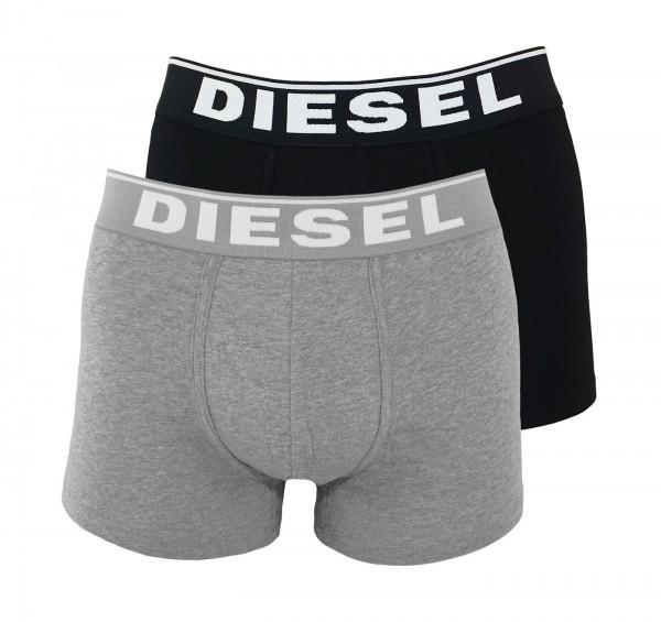 Diesel 2er Pack Boxer DAMIEN OJKKB E4084 schwarz, grau SS19-DB1