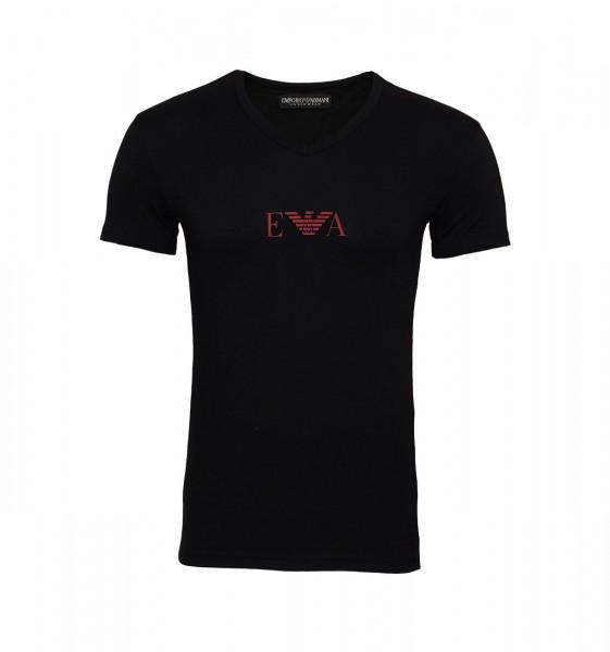 Emporio Armani T-Shirt V-Neck 110810 9A715 00020 black SH19-EAX1