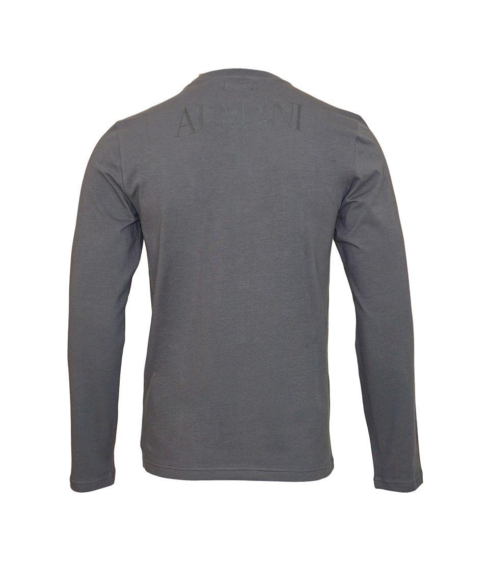 Emporio Armani Longsleeve Shirt Rundhals 111653 7A516 08444 FUMO SH17-EALS1