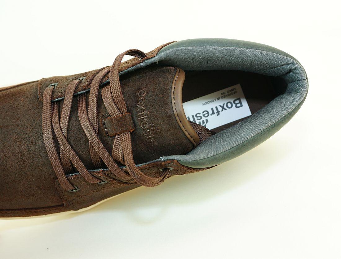 Boxfresh Schnürschuhe Schuhe Cluff UH WXD E-14838 Dunkelbraun SHW Sneaker SH17-BFS1