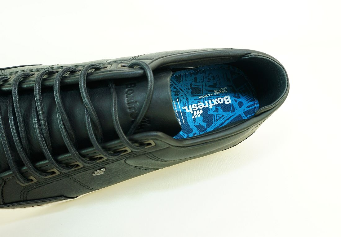 Boxfresh Schnürschuhe Schuhe Sparko Prem ICN ZMB LEA E-15240 Black Sneaker SH17-BFS1
