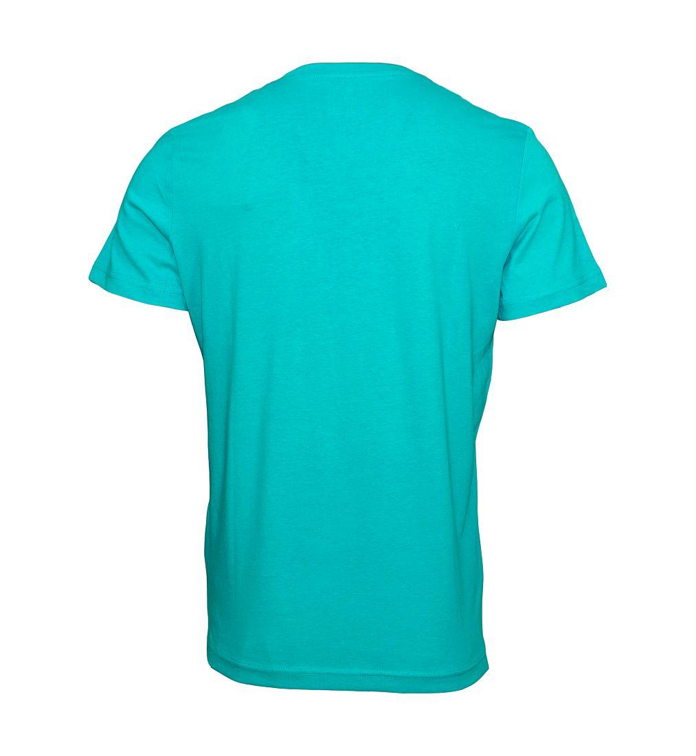 Tom Tailor T-Shirt Tee Shirt brazilian turquoise 1023549 0910 7763 WF17-JT2