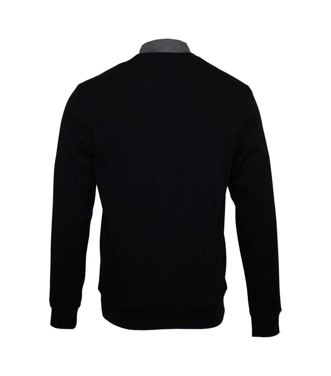 Emporio Armani Pullover Rundhals Sweater 111437 7A561 00020 NERO HW17-EAS1