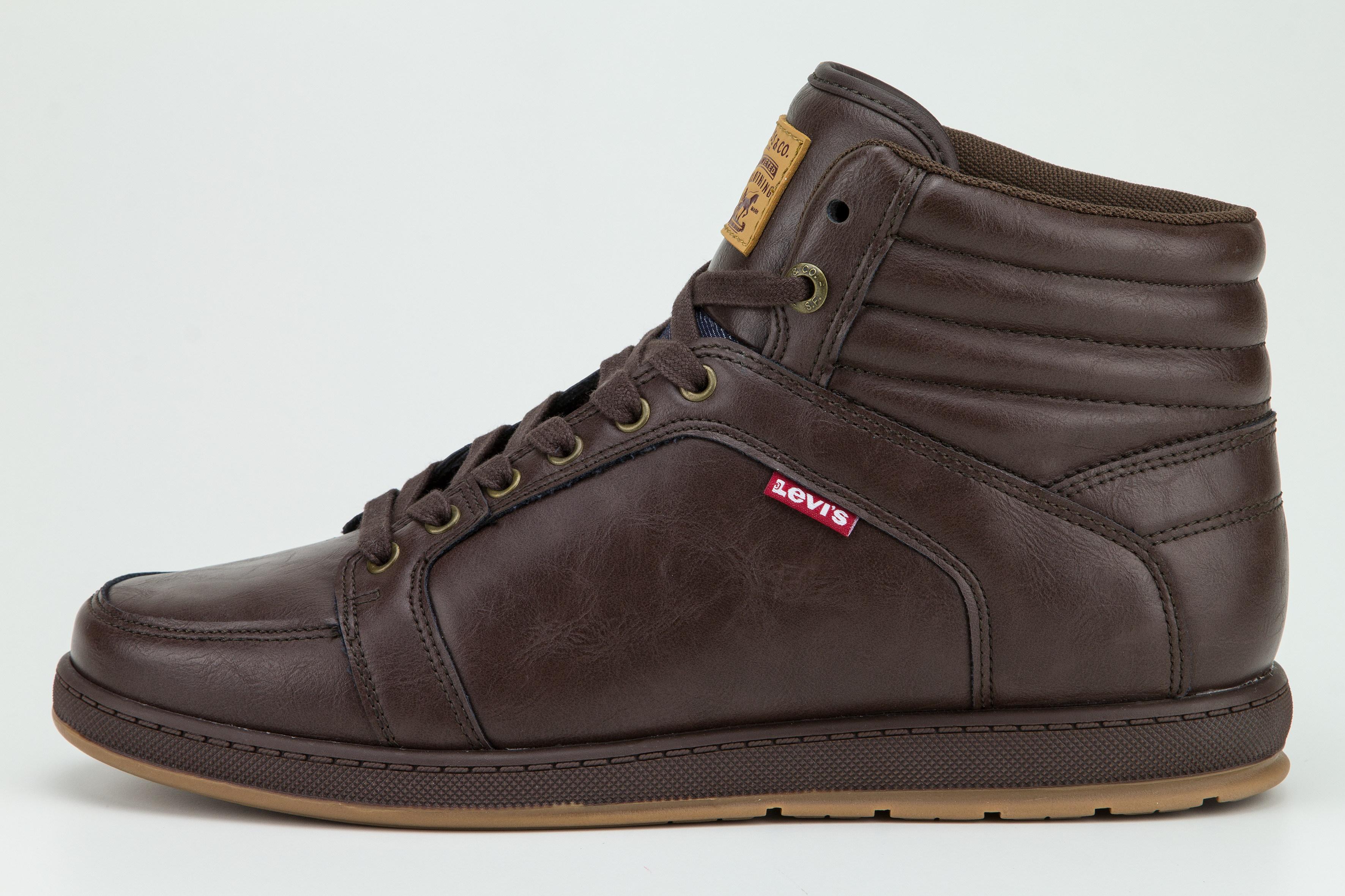 Levis Schuhe Boots VANCE TECATE 227996 1794 29 dunkelbraun SH18-LB1