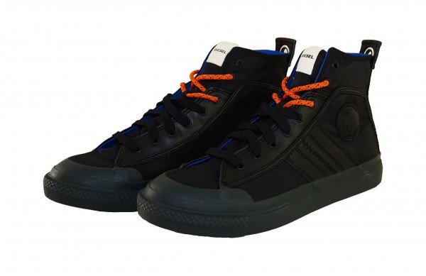 Diesel Sneaker ASTICO Mid Lace Y01874 P1907 T8013 black SH19-DS1