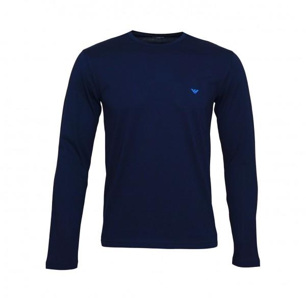 Emporio Armani Longsleeve Shirt 111653 9P722 00135 navy SS19-EAL1