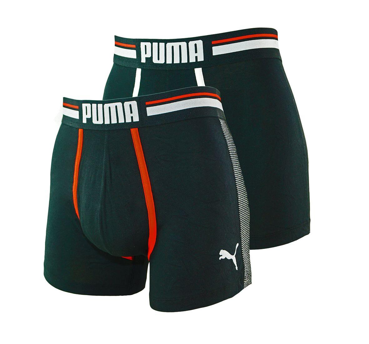 PUMA Shorts Unterhosen 2er Pack Boxer 571005001 200 020 black SF17-PMS1