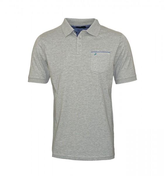 Daniel Hechter Polo Poloshirt 75022 191914 920 Grey FS19-DHP2