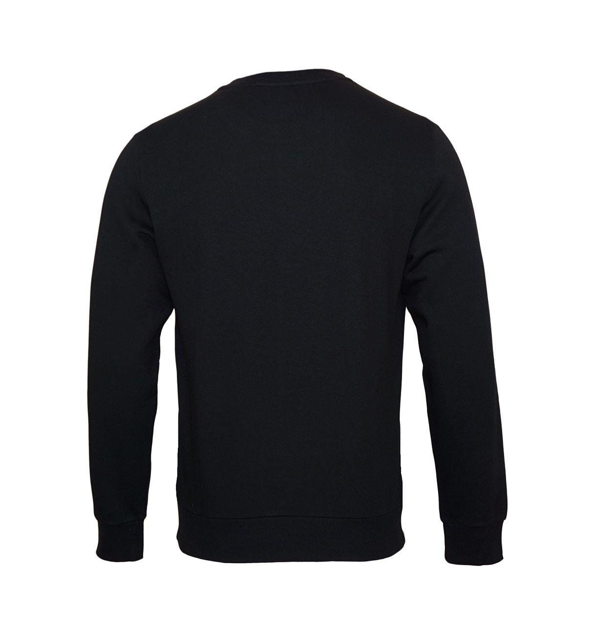 Emporio Armani Sweater Pullover Rundhals 111785 8A571 00020 NERO SH18-EAS2