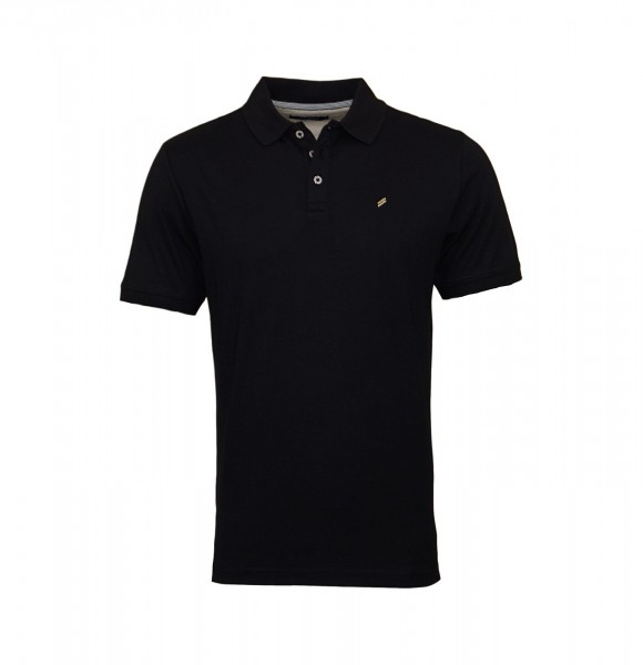 Daniel Hechter Poloshirt Polo Jersey 75016 101915 990 black WF20-DHP1