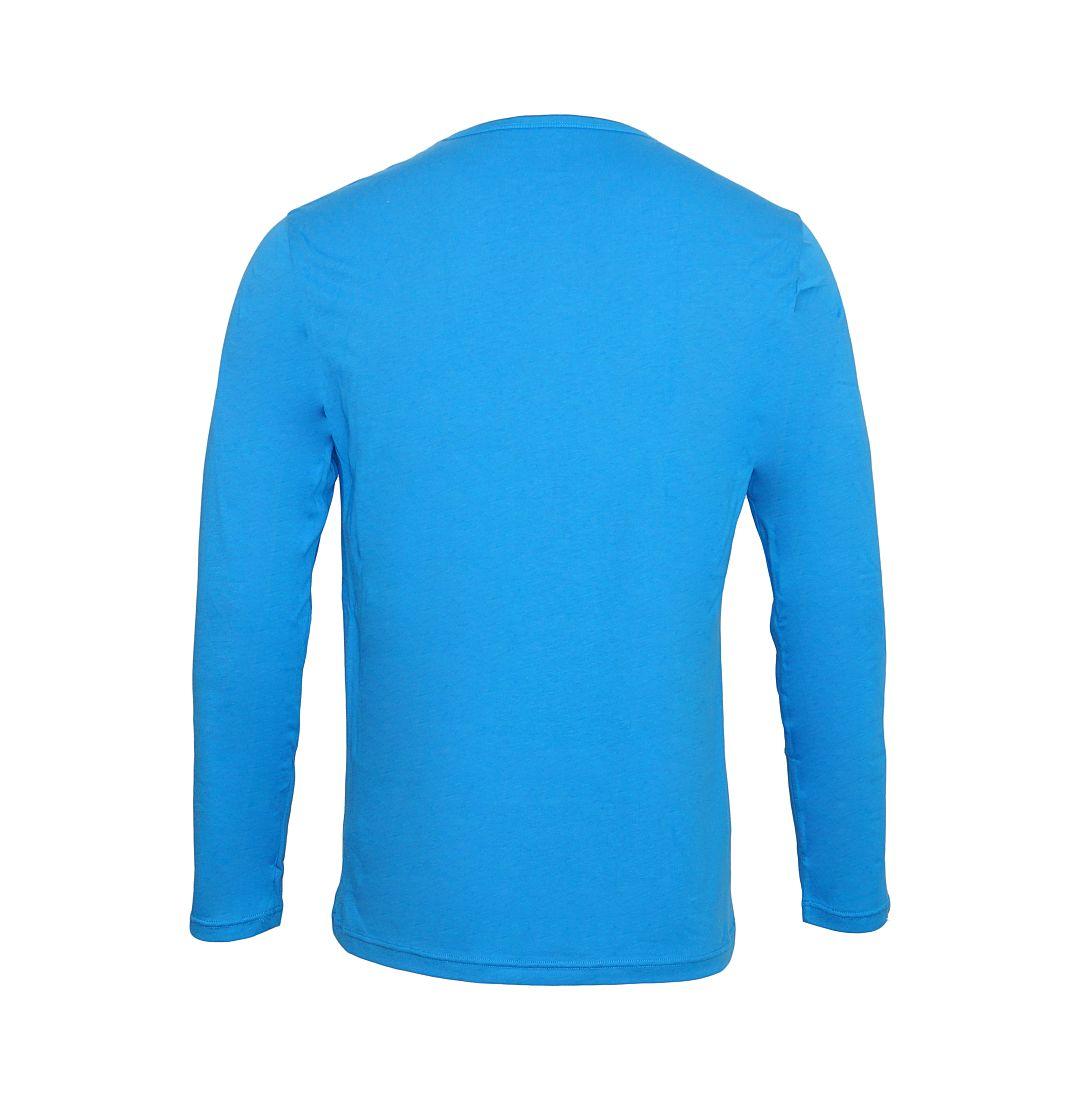 Emporio Armani Shirt Longsleeve KNIT SWEATER 111287 6A722 04433 COBALTO HW16A1