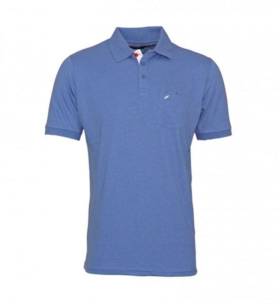 Daniel Hechter Polo Poloshirt 75022 191914 640 blue WF19-DHP1