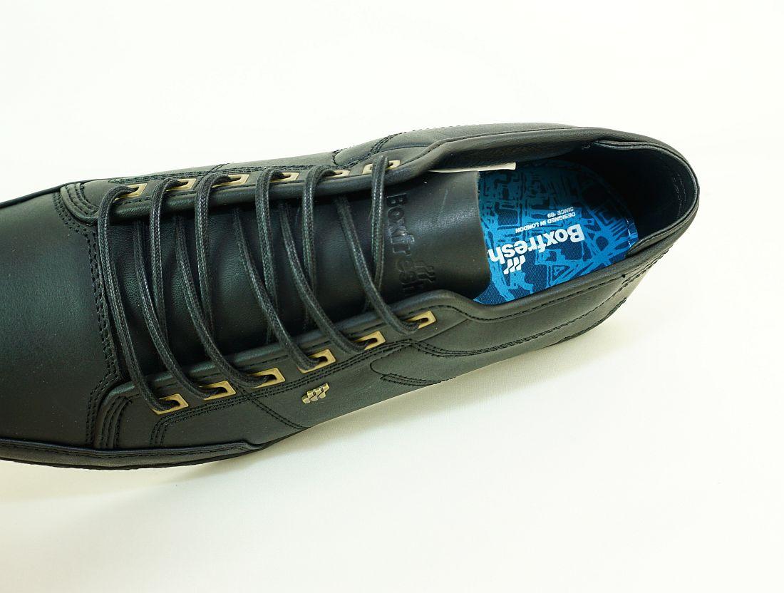 Boxfresh Schnürschuhe Schuhe Sparko Prem ICN ZMB LEA E-15197 ASH Sneaker SH17-BFS1