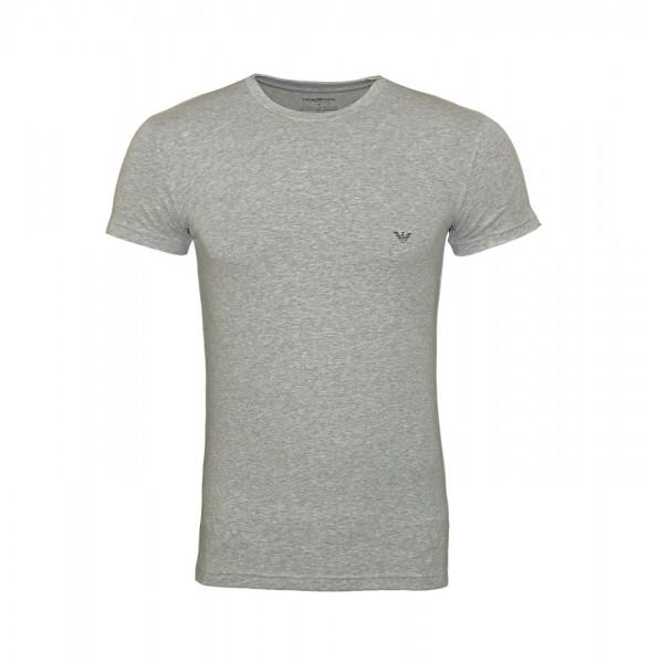 Emporio Armani T-Shirt Rundhals 111035 9P745 00048 hellgrau FS19-EAT1