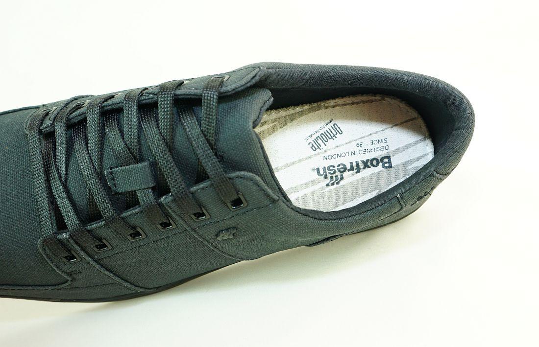 Boxfresh Schnürschuhe Schuhe Spencer ICN WXD E-14842 Black Sneaker SH17-BFS1