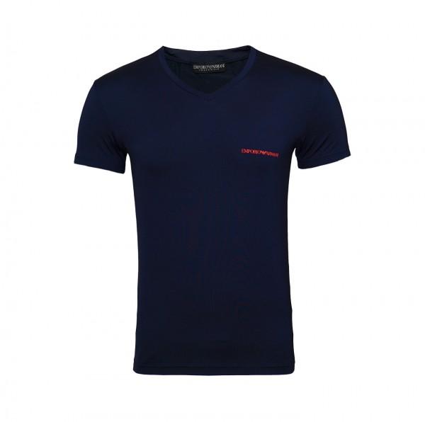 Emporio Armani T-Shirt V-Neck 110810 9P719 00135 navy FS19-EAT1
