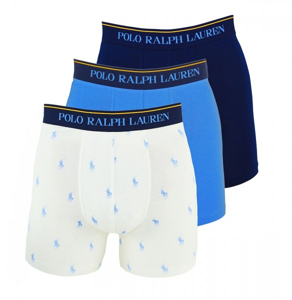 Ralph Lauren 3er Pack Boxer Boxershorts 71473041 0001 multicolor W19-RL3