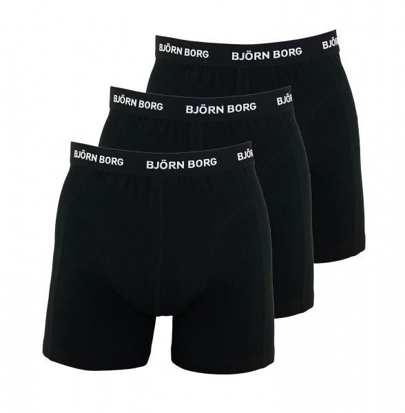 Björn Borg 3er Pack Boxer Boxershorts 9999-1024 90011 black HW19-BB1