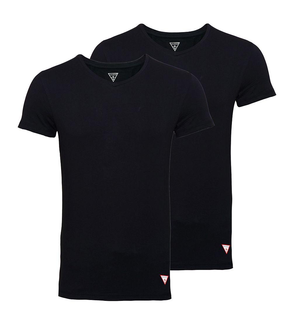 GUESS 2er Pack T-Shirt Shirts schwarz U77G14JR003 A996 WF17-GUS1