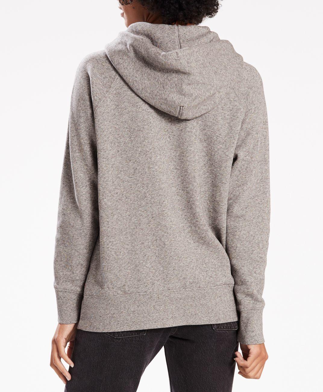 LEVIS Pullover für Damen Hoodie Sweater 35946-0003 grau W18-LDP1
