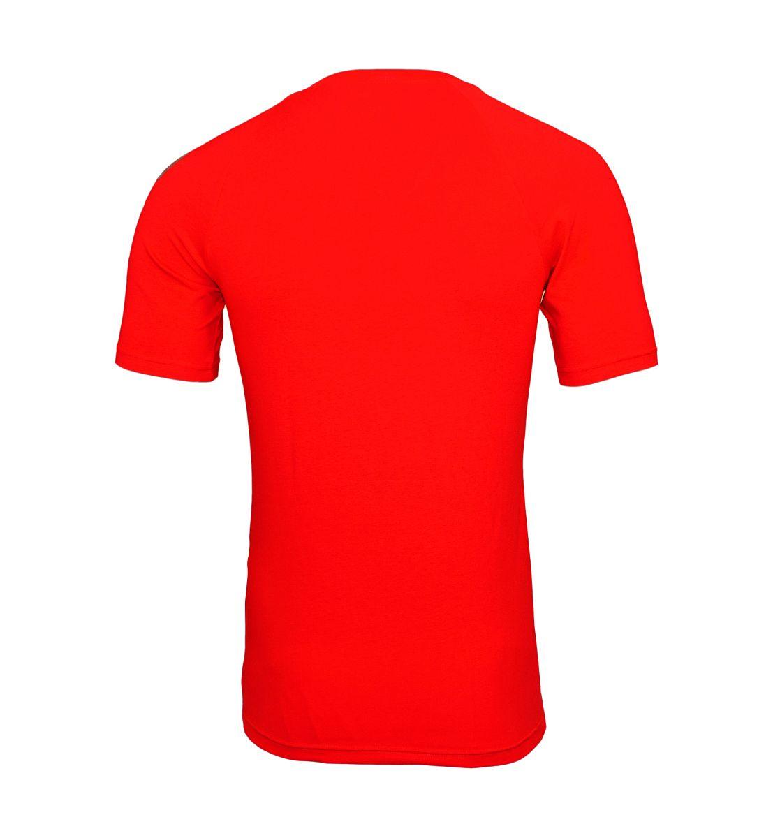 Emporio Armani T-Shirt V-Ausschnitt 111760 8P725 17574 TANGO RED W18-EATS1