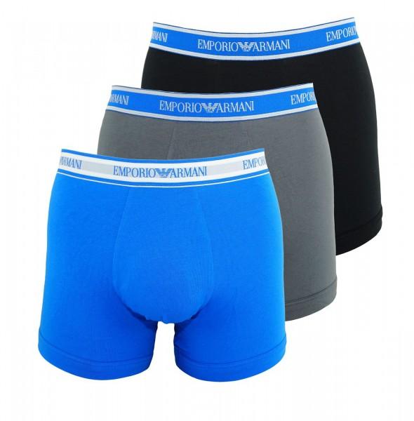Emporio Armani 3er Pack Boxershorts 111473 9P717 22844 blau, grau, navy WF19-EAB1