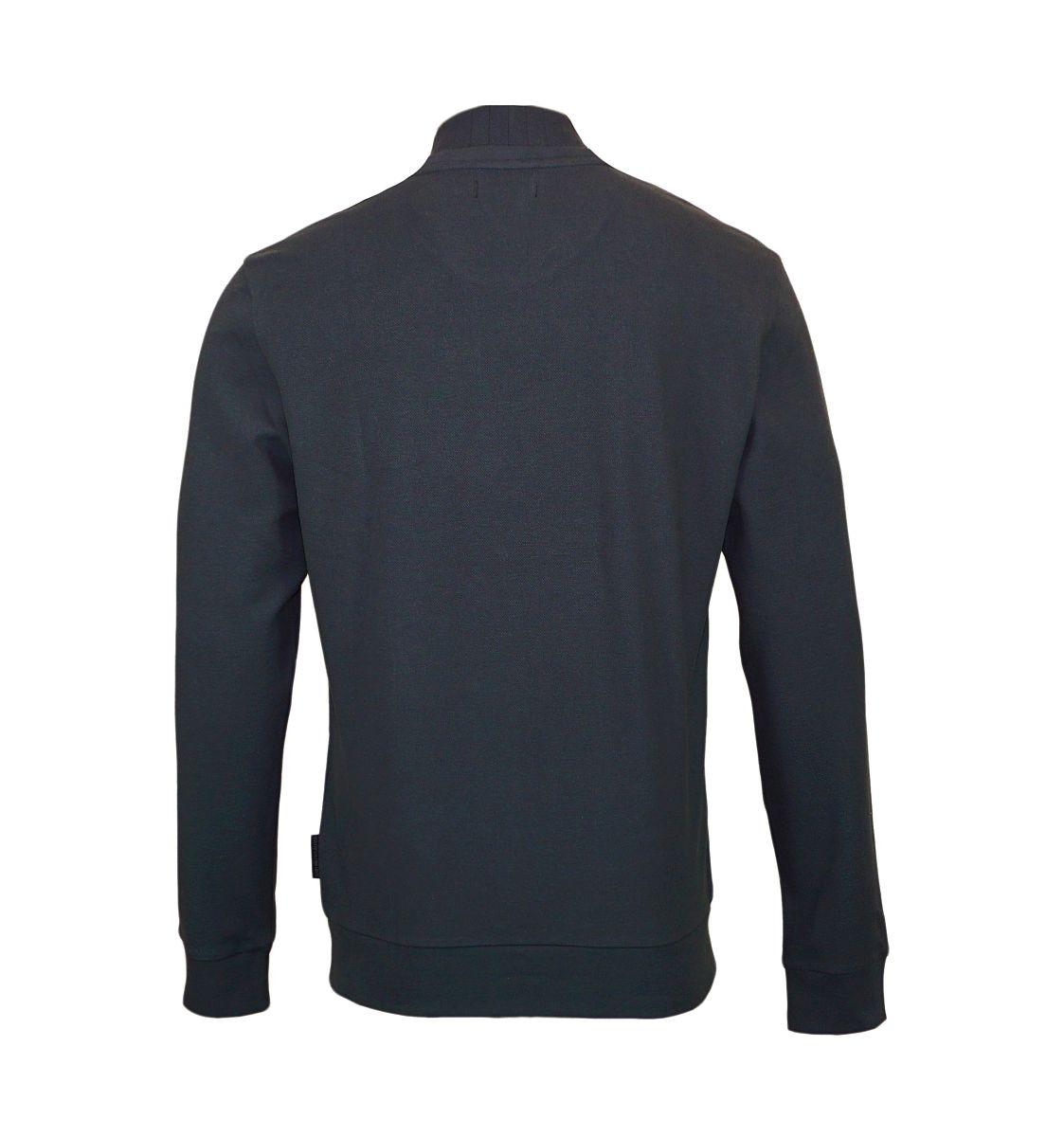 Emporio Armani Sweater Pullover Rundhals 111437 7A569 08444 FUMO HW17-EAS1