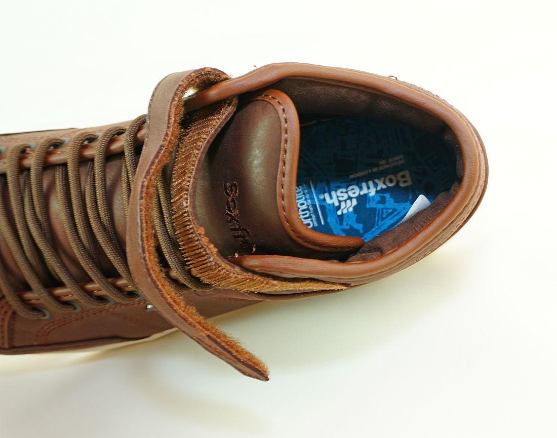 Boxfresh Schnürschuhe Schuhe Swich Prem ICN VCHT LEA E-15203 Sneaker SH17-BFS1