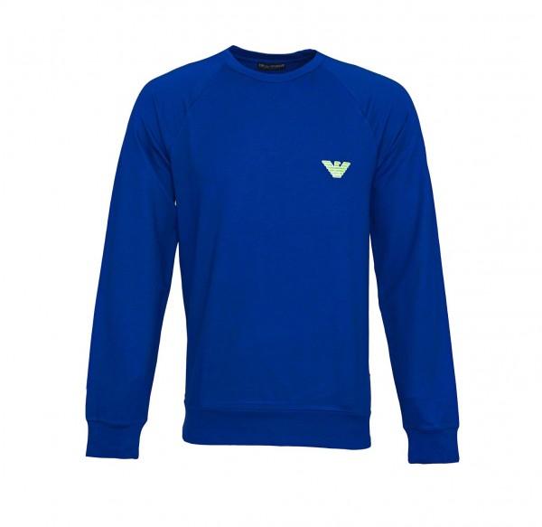 Emporio Armani Pullover Rundhals 111062 9P575 15834 blau SS19-EAP1