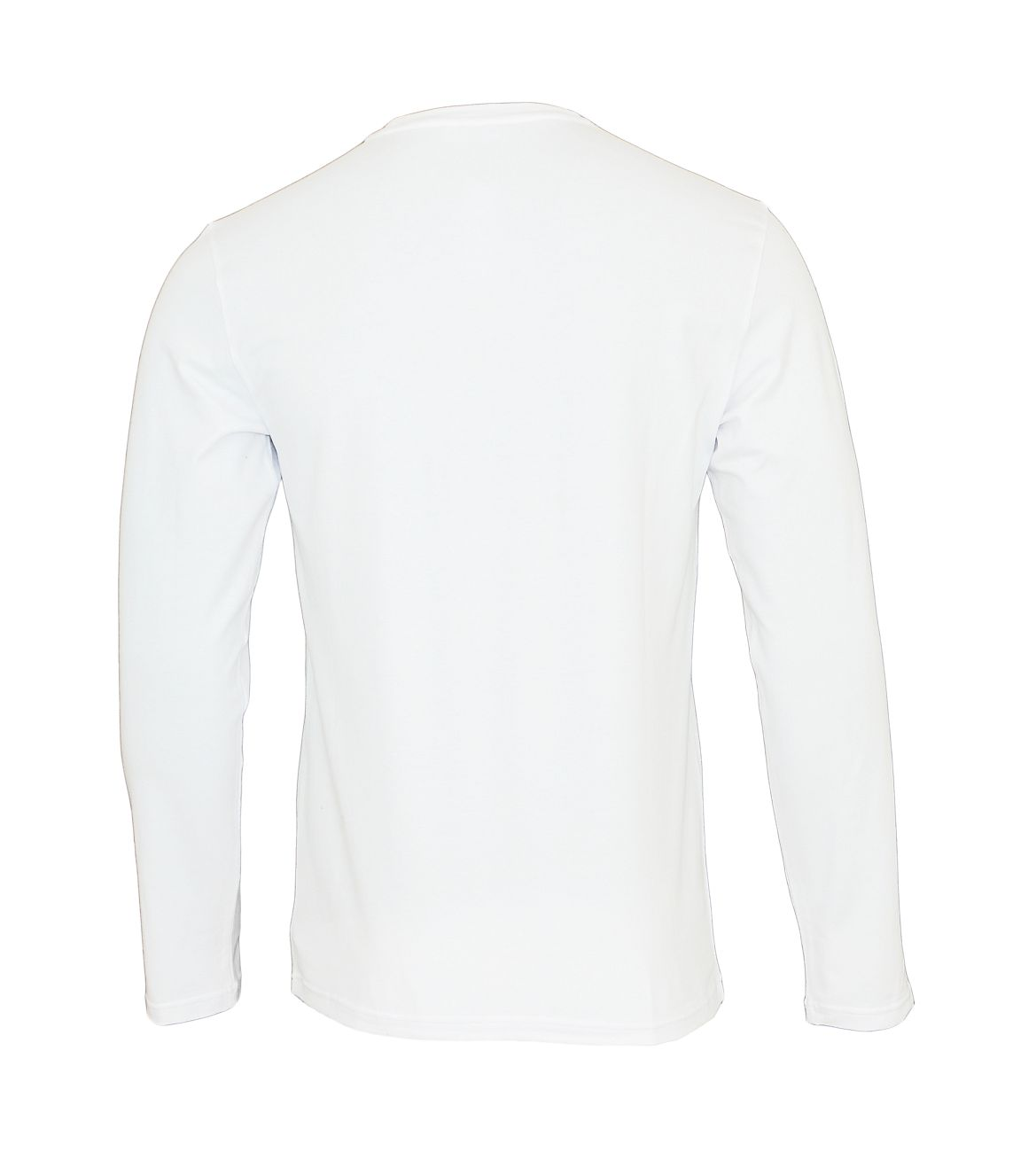 Emporio Armani Longsleeve Rundhals Shirt 111653 8A516 00010 BIANCO WX18-EAL