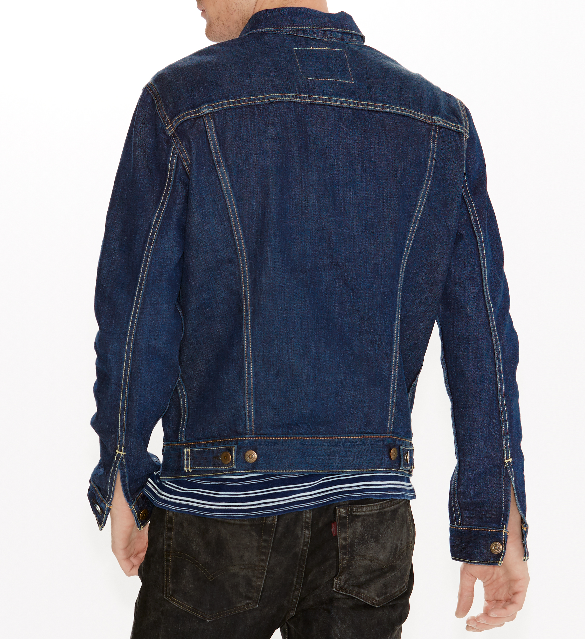 LEVIS Jacke Jeansjacke 72334-0147 THE TRUCKER JACKET CONIFER W18-LVJ1